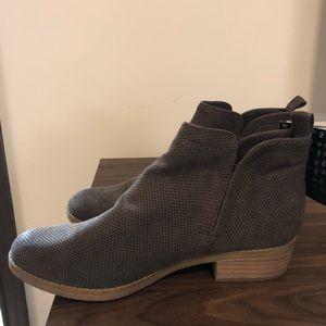 DV Booties Grey Women's Size 8 - NWT